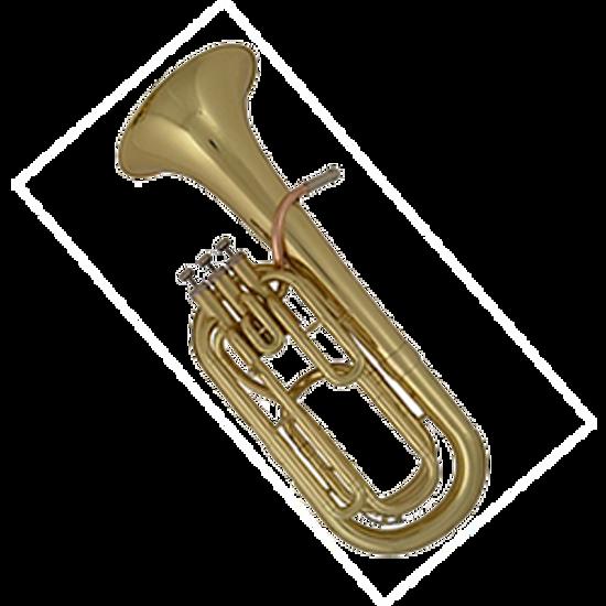 Afbeelding van Groot onderhoud bariton, euphonium, ventieltrombone